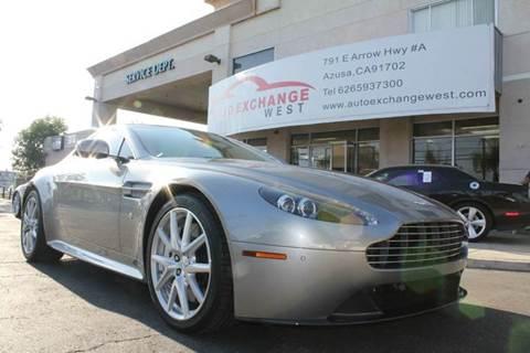 2012 Aston Martin V8 Vantage for sale in Azusa, CA