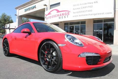 2012 Porsche 911 for sale in Azusa, CA