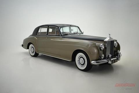 1960 rolls-royce silver cloud 2 for sale in north carolina