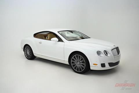 2008 bently coupe