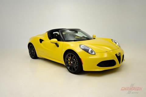 Alfa Romeo C For Sale In New York Carsforsalecom - Used alfa romeo 4c for sale