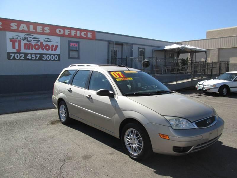 Used Cars in Las Vegas 2007 Ford Focus