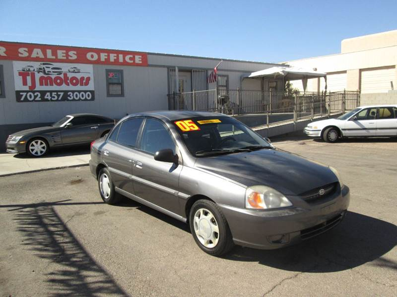 Used Cars in Las Vegas 2005 Kia Rio