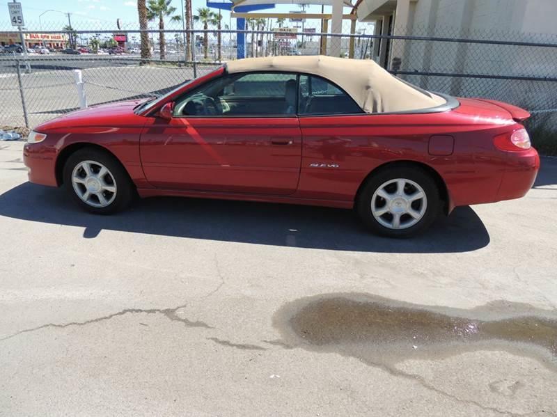 Used Cars in Las Vegas 2002 Toyota Camry Solara