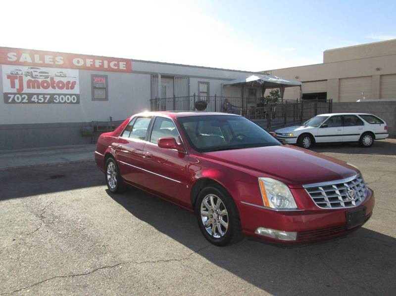 Used Cars in Las Vegas 2008 Cadillac DTS