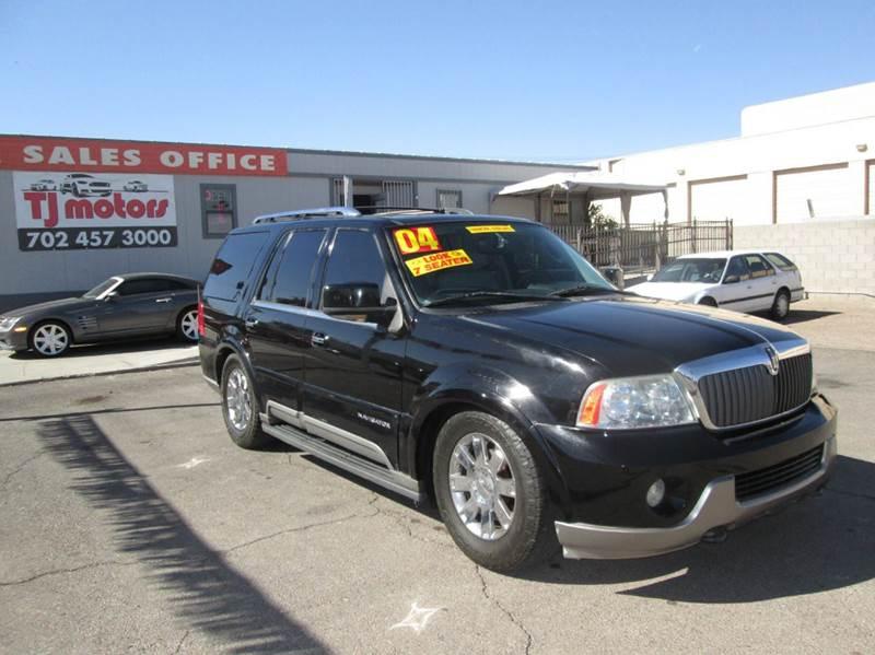 Used Cars in Las Vegas 2004 Lincoln Navigator