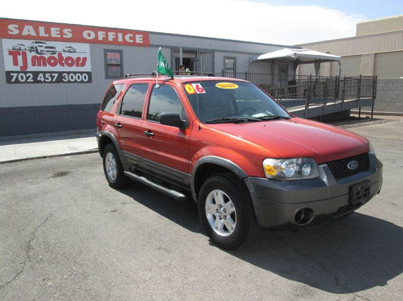 Used Cars in Las Vegas 2006 Ford Escape
