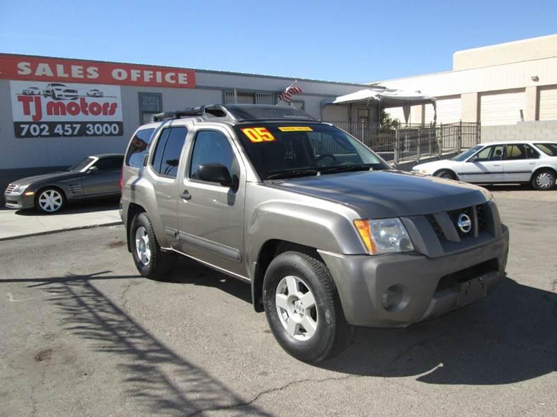 Used Cars in Las Vegas 2005 Nissan Xterra
