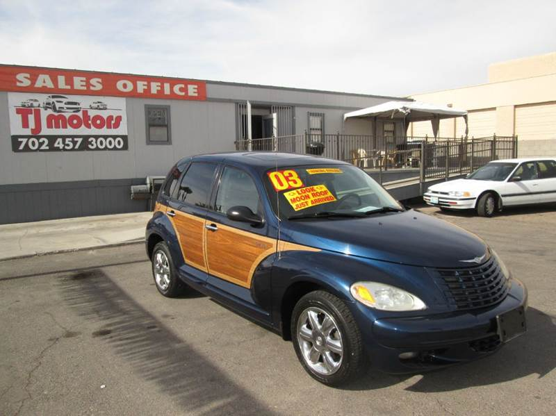 Used Cars in Las Vegas 2003 Chrysler PT Cruiser