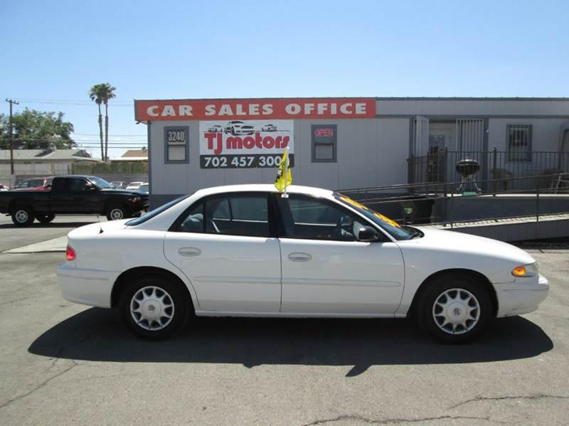 Used Cars in Las Vegas 2003 Buick Century