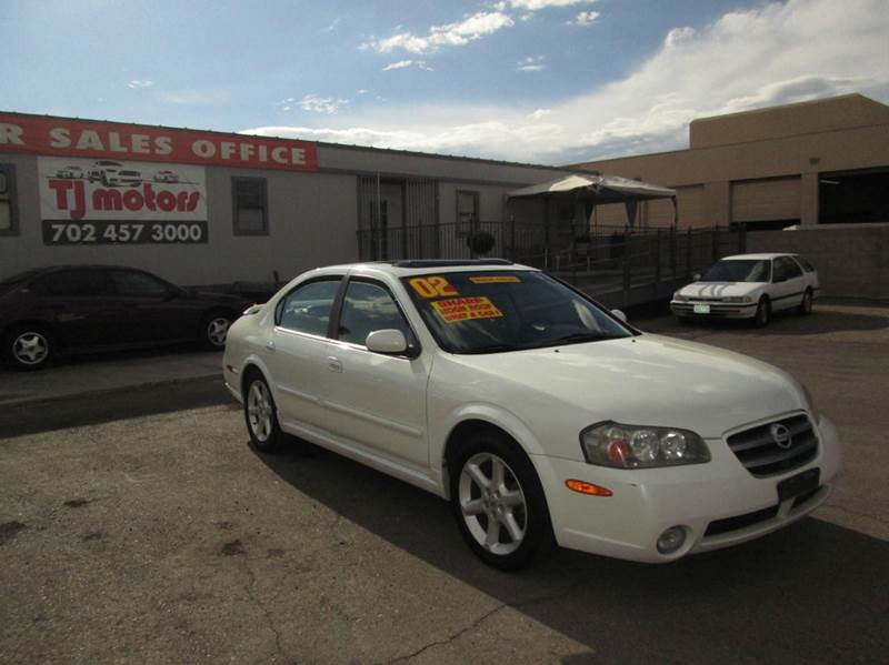 Used Cars in Las Vegas 2002 Nissan Maxima