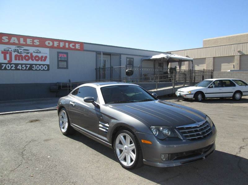 Used Cars in Las Vegas 2004 Chrysler Crossfire