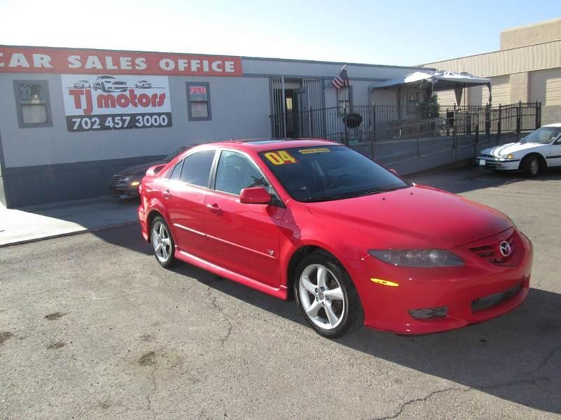 Used Cars in Las Vegas 2004 Mazda 6