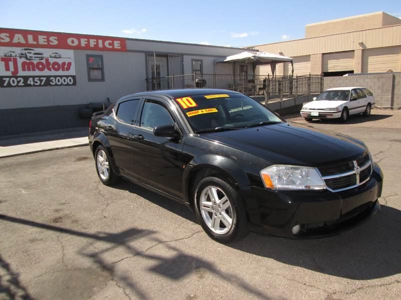 Used Cars in Las Vegas 2010 Dodge Avenger