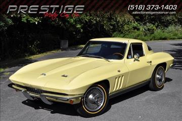 1966 chevrolet corvette for sale new york for Prestige motors clifton park