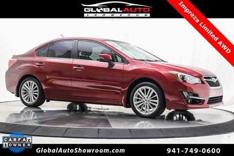 2015 Subaru Impreza For Sale In Bradenton FL