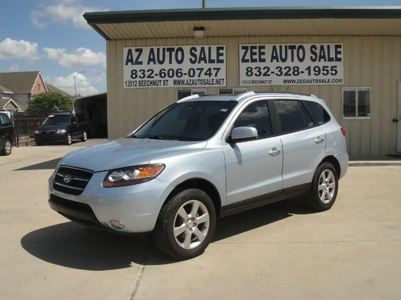 Suv Auto Sales Houston Tx: 2008 Hyundai Santa Fe Limited 4dr SUV In Houston TX