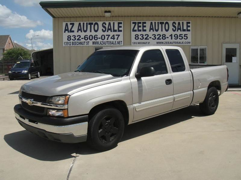2006 chevrolet silverado 1500 work truck 4dr extended cab 6 5 ft sb in houston tx zee auto sales. Black Bedroom Furniture Sets. Home Design Ideas