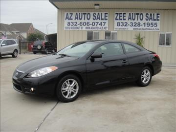 used toyota camry solara for sale houston tx. Black Bedroom Furniture Sets. Home Design Ideas