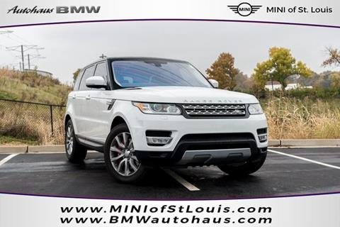 2016 Land Rover Range Rover Sport for sale in Saint Louis, MO