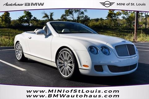 2010 Bentley Continental GTC Speed for sale in Saint Louis, MO