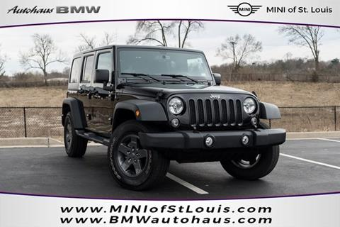 2016 Jeep Wrangler Unlimited for sale in Saint Louis, MO