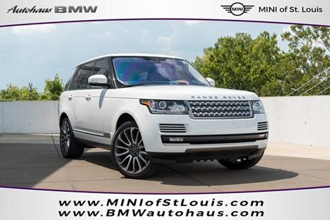 2016 Land Rover Range Rover for sale in Saint Louis, MO