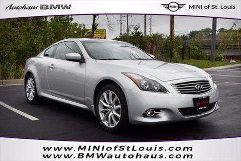 2011 Infiniti G37 Coupe for sale in Saint Louis, MO