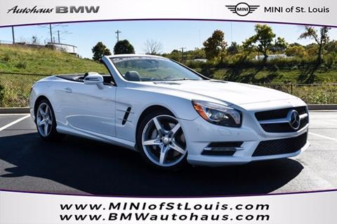 mercedes benz sl class for sale in missouri. Black Bedroom Furniture Sets. Home Design Ideas