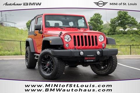 2014 Jeep Wrangler for sale in Saint Louis, MO