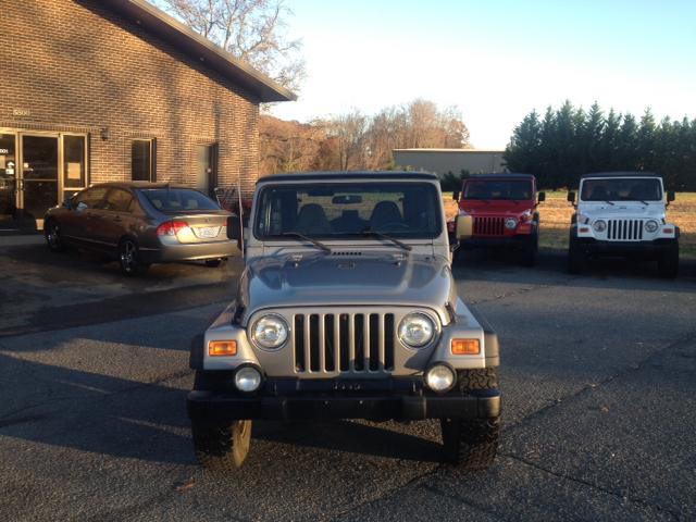 2001 Jeep Wrangler for sale in Lexington NC