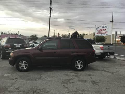 2007 Chevrolet TrailBlazer for sale in El Paso, TX