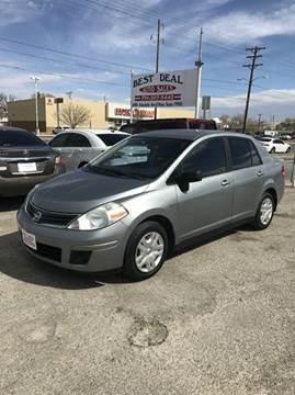 2011 Nissan Versa for sale in El Paso, TX