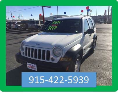 2007 Jeep Liberty for sale in El Paso, TX