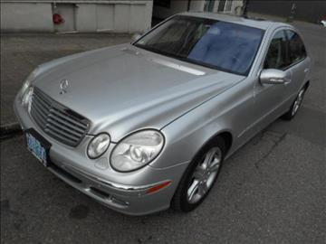 2005 Mercedes-Benz E-Class for sale in Portland, OR