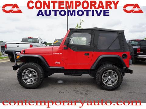 1998 Jeep Wrangler for sale in Tuscaloosa, AL