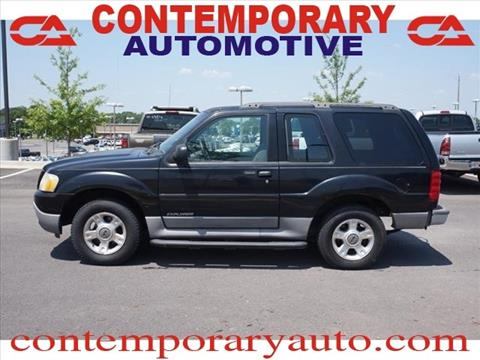 2001 Ford Explorer Sport for sale in Tuscaloosa, AL