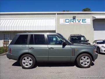 2005 Land Rover Range Rover for sale in Jacksonville, FL