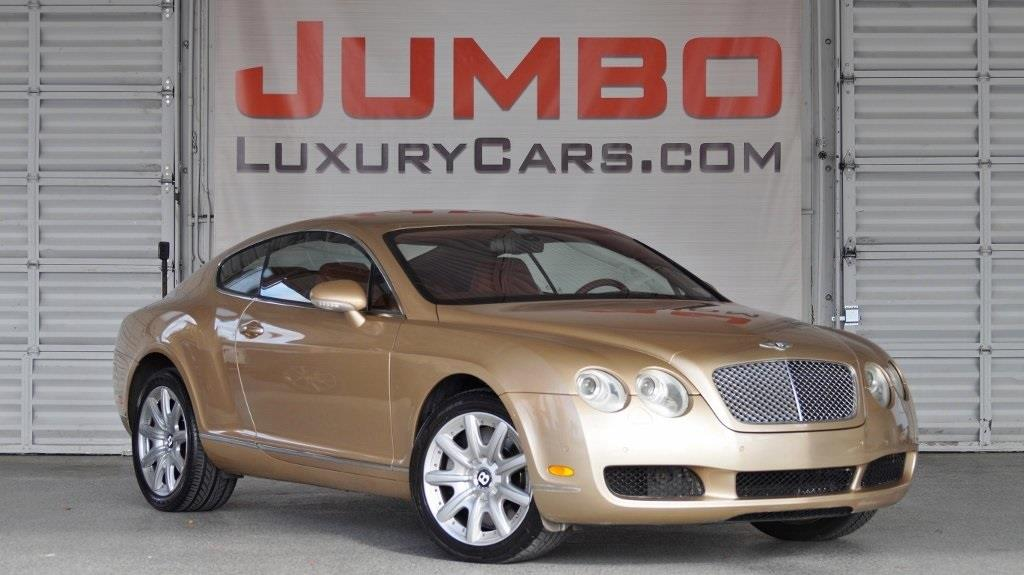 2005 BENTLEY CONTINENTAL GT BASE 2DR TURBO COUPE gold no dealer fees  for a peace of mind we off