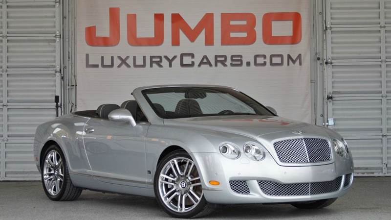2010 BENTLEY CONTINENTAL GTC SERIES 51 silver no dealer fees  for a peace of mind we offer 7 day