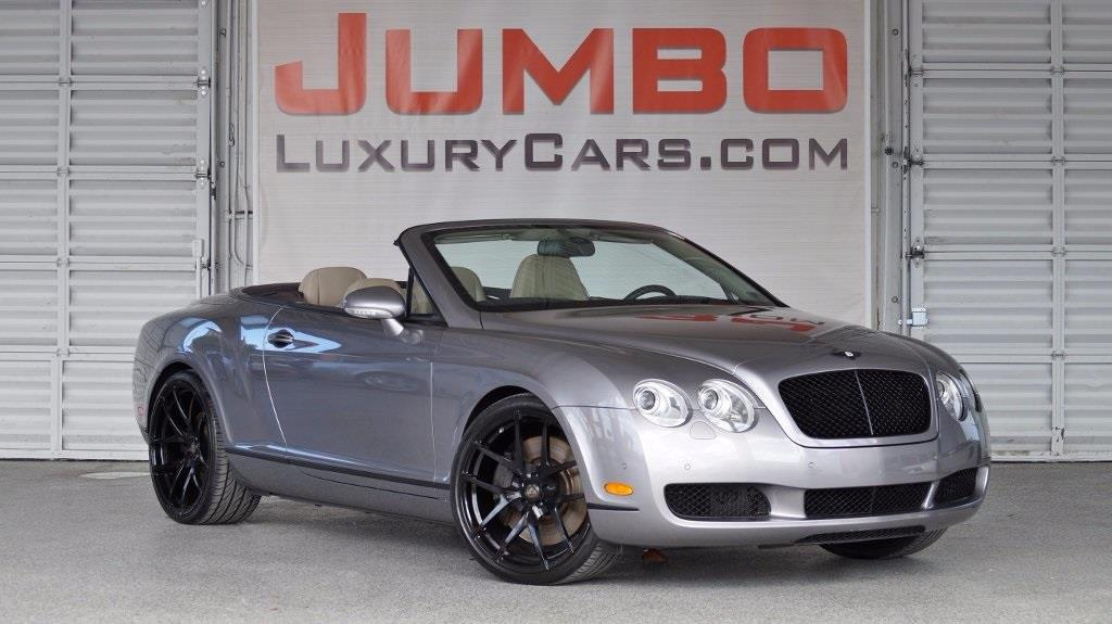 2009 BENTLEY CONTINENTAL GTC BASE AWD 2DR CONVERTIBLE silver tempest no dealer fees  for a peace
