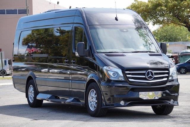 2015 MERCEDES-BENZ SPRINTER CARGO EXECUTIVE black midwest automotive designs conversion no d