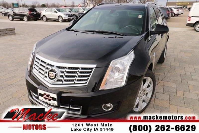 Cadillac srx for sale in iowa for Macke motors lake city iowa