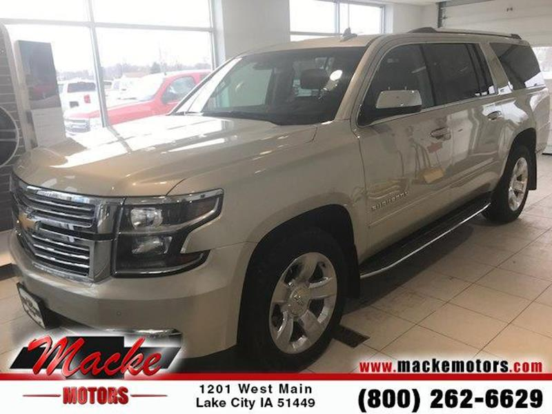 2016 chevrolet suburban for sale in iowa