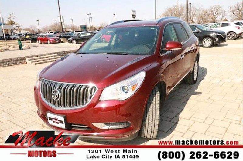 2016 buick enclave for sale for Macke motors lake city iowa