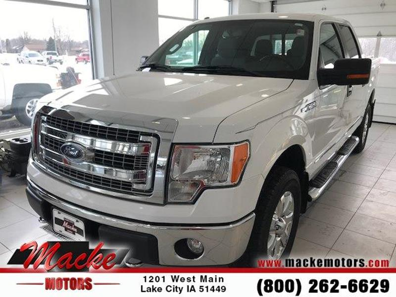 2013 ford f 150 for sale in iowa for Macke motors lake city iowa