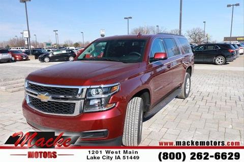 Chevrolet suburban for sale in iowa for Macke motors lake city iowa