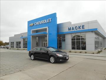 2013 buick lacrosse for sale for Macke motors lake city iowa