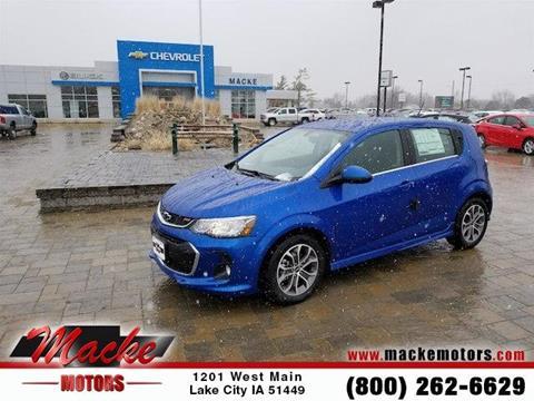 Chevrolet sonic for sale in iowa for Macke motors lake city iowa