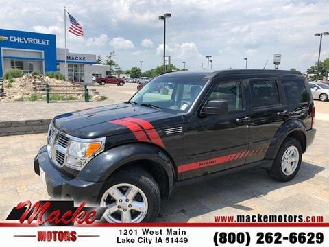 Dodge nitro for sale in iowa for Macke motors lake city iowa